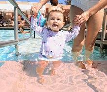 15 Parent And Me Swim Classes To Keep LA OC Babies Toddlers Afloat