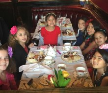 Afternoon Tea And Parties For Los Angeles Kids