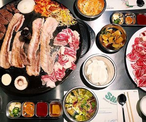 Kids will be wowed by the delicious all-you-can-eat spread at 02 Korean BBQ.