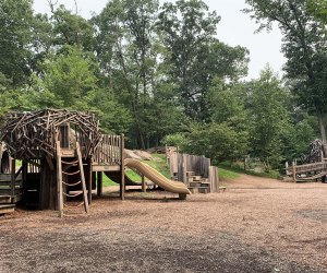 The Greenburgh Nature Center has an inventive playground that's admission-free and open to all to enjoy.