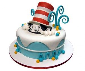 Cat in the hat birthday cake city cakes