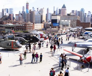 The Intrepid Sea, Air & Space Museum is one of over 20 NYC institutions offering free admission on Smithsonian Magazine Museum Day. Photo courtesy of the Intrepid