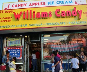 Williams Candy's old-school facade fits in on Coney Island