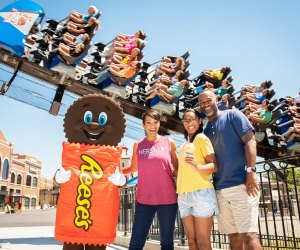 Hershey Park lets you preview its rides for 2-3 hours of bonus park time the night before you visit.