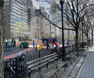 Little Engine Playground in Riverside Park South