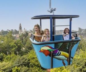Ride the San Diego Zoo Skyfari. Photo courtesy of Christina Simmons, for the San Diego Zoo.