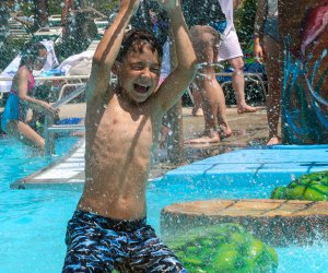 Best Outdoor Water Parks near Chicago: boy at water park