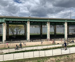 Riverside Park South sand volleyball courts
