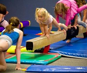 Gymnastics builds strength, agility, self-esteem, confidence, and more.  Photo by rain0975 via Flickr