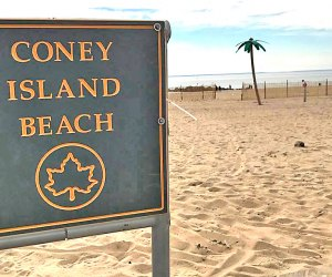 NYC begins to prepare for a hot summer with closed beaches. Photo courtesy of NYC Parks