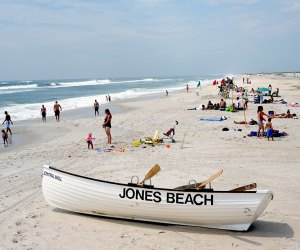 Jones Beach State Park is a popular beach for Long Island families. Photo courtesy of Long Island State Parks