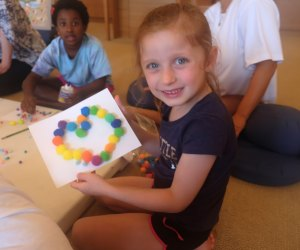 Children's meditation classes at the Kadampa Meditation Center are presented in a lively, creative and interactive way.