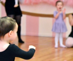 A Fairy Tale Ballet  toddlers doing ballet class