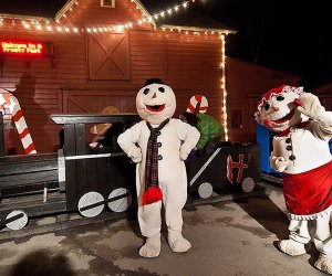 Visit A Frosty Fest for a family fun holiday light spectacular unlike any other. Photo courtesy of the event