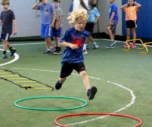The Multi-Sport Camp at A Game Camp provides fun activities run by A-Game Sports coaches for your kids to enjoy their days off in a safe environment!