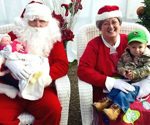 Bring your camera for a picture with Santa and Mrs. Claus will be at Abma's Farm. Photo courtesy of the farm