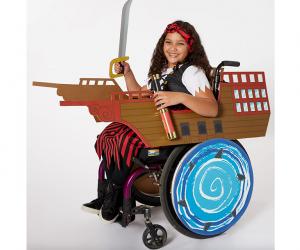 Kids' Halloween Costume Ideas: Adaptive Pirate Ship