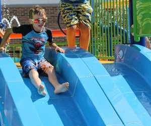 Water Playgrounds and Spraygrounds for Chicago Kids: Adventure Island