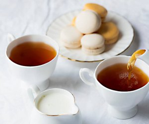 Delight your child with tea and sweets a the Afternoon Tea at the Garden City Hotel. Photo courtesy of the hotel