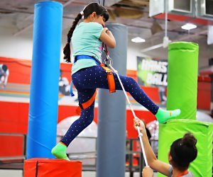 Climb to new heights at Flight Fit N Fun's indoor entertainment center. Photo courtesy of the venue