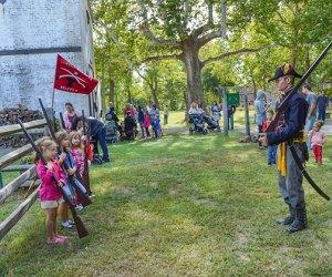 Allaire Village historical reenactment