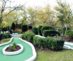 Alley Pond Golf Center's mini golf course