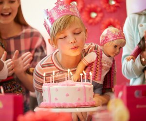 Host a party with all the girls and dolls at American Girl Cafe. Photo courtesy of American Girl.