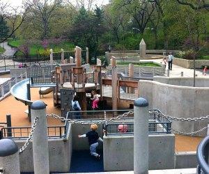 Ancient Playground has plenty of slides