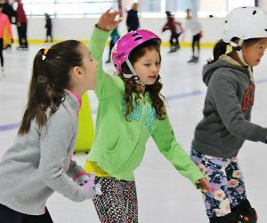 The Andrew Stergiopoulos Ice Rink in Great Neck offers learn-to-skate programs and plenty more.