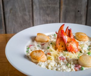 Let Aneu whip up a lobster scallop risotto for a delish Mother's Day! Photo courtesy of Aneu