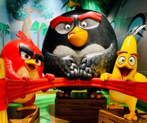 Angry Birds Not So Mini Golf offers plenty of fun photo ops, too.