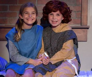 Annie is at the Smithtown Performing Arts Center. Photo by James Gorman