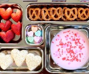 100 School Lunch Ideas for Kids: Pretzel and dip