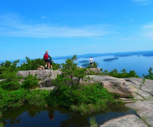 Hike Champlain Mountain in Acadia National Park for majestic views. Photo courtesy Maine Office of Tourism