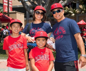 Take Dad out to the ballgame. Photo courtesy of Angels Baseball