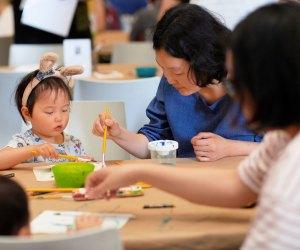 Tap into your child's creativity at Art Kids Studio. Photo by Elizabeth Leitzell/Philadelphia Museum of Art