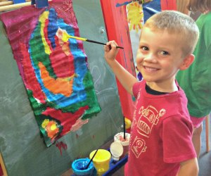 There's painting and more at the summer camp at Art Barn.