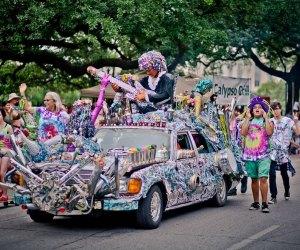 Photo courtesy the Houston Art Car Parade