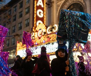 """Arts in the Dark is a magical evening parade that celebrates Halloween as the """"artist's holiday"""". Photo courtesy of  the event"""