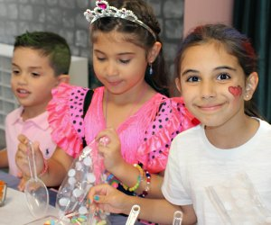Little girls will be all smiles at a birthday party at As You Wish.