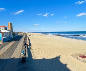 Explore the famous Asbury Park boardwalk or one of its famous neighbors in the offseason.