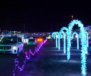 Discover a symphony of sight and sound at Candy Rush World of Illumination at Six Flags. Photo courtesy of World of Illumination