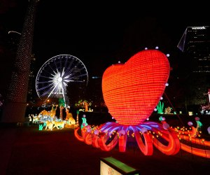 Thrill to the illuminations at the Atlanta Chinese Lantern Festival. Photo courtesy of Centennial Olympic Park