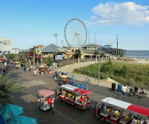 Beyond the casinos, Atlantic City is an all-ages playground, with boardwalk amusements, beach access, and more fun.