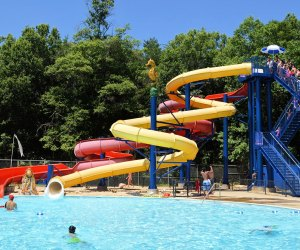 What's better than a water park on a hot day? Just don't forget the sunscreen.