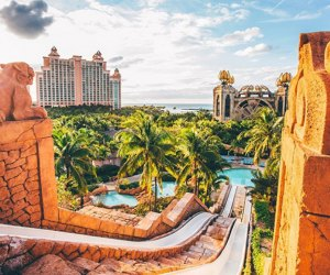 Visit Atlantis, Paradise Island, in the Bahamas for all-inclusive family fun. Photo courtesy the resort