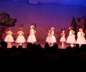 The highlight of Atlanta dance classes for kids is the elaborate recital production. Photo Mommy Poppins