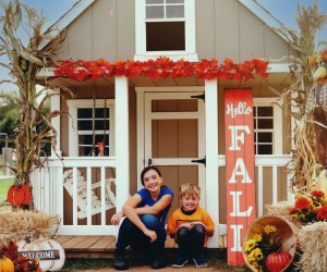 Pumpkin Village opens September 18th at Leesburg Animal Park. Photo courtesy of Mosaic Photography