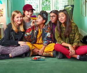 Kids will get hooked on (the new) Baby-Sitters Club just like their parents did back in the day. Photo courtesy of Netflix