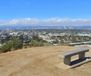 You can see forever from the Baldwin Hills Park Overlook.